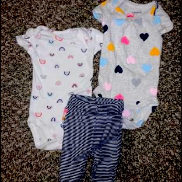 Nb 3 piece girl outfit